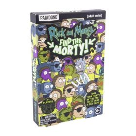 Настолна игра Paladone Rick and Morty - Find the Morty!, картова