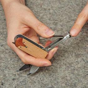 Мулти-функционален инструмент Kikkerland - Fox Manicure Set, за маникюр