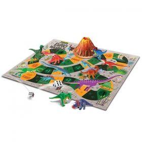 Творчески комплект/игра 4M - Свят на динозаври, Рисувай и играй