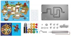 Образователен комплект игра 4M - Лов на пиратско съкровище