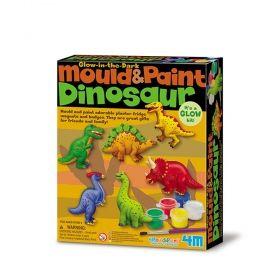 Творчески комплект 4M - Направи си магнити динозаври
