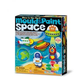 Творчески комплект 4M - Направи си магнити - Космос
