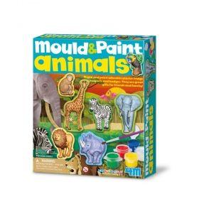 Творчески комплект 4M - Направи си магнити - животни
