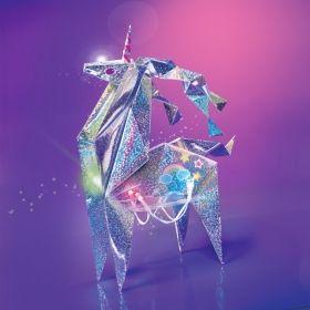 Творчески комплект 4M - Светещо оригами еднорог