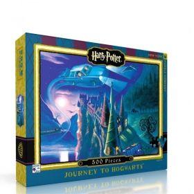 Пъзел от 500 части New York Puzzle - Хари Потър, Пътешествие до Хогуортс