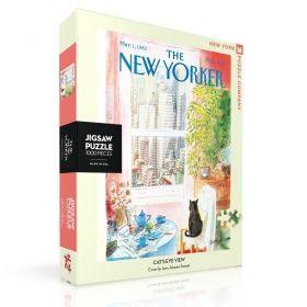 Пъзел от 1000 части New York Puzzle - През очите на котката, Жан-Жак Семпе