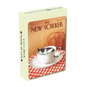 Карти за игра New York Puzzle Co. The New Yorker - Карикатури с котки