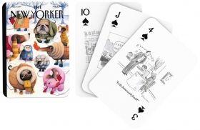 Карти за игра New York Puzzle Co. The New Yorker - Карикатури с кучета