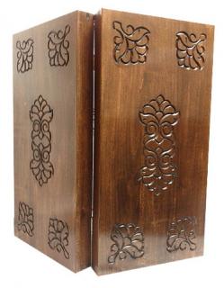 Кутия за табла с дърворезба Орешак 48/48