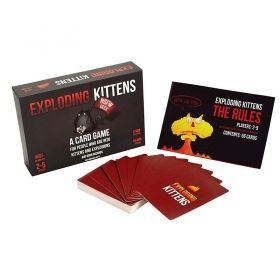 Настолна игра Exploding Kittens - NSFW Deck