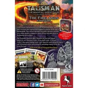 Разширение за Talisman (Revised 4th Edition) - The Firelands