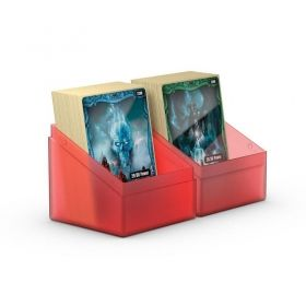 КУТИЯ ЗА КАРТИ - ULTIMATE GUARD BOULDER DECK CASE (за LCG, TCG и др) 100+ - ЧЕРВЕНА