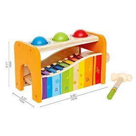 Hape Комплект лира, ксилофон и разноцветни топки