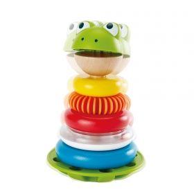 Hape Дървена играчка за подреждане Жабка