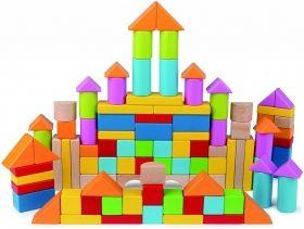 Hape  Разноцветни кубчета 101 бройки