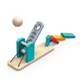 Hape Дървена игра Домино фабрика