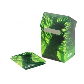 КУТИЯ ЗА КАРТИ - ULTIMATE GUARD DECK CASE LANDS EDITION (за LCG, TCG и др) 80+ - FOREST