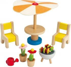 Hape Мини мебели – Вътрешен двор