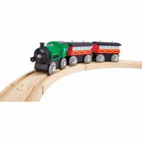 Hape  Влакче с парников локомотив