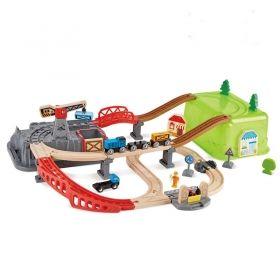 Hape Железопътен комплект