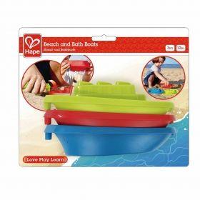Hape Лодки за баня и плаж ( 3 в комплект)