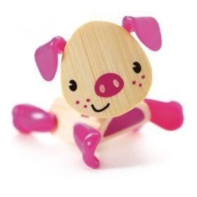Hape Мини животинка от бамбук – Прасе
