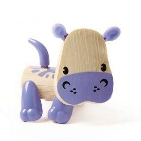 Hape Мини животинка от бамбук – Хипопотам