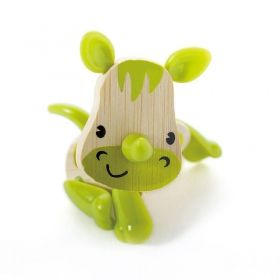 Hape Мини животинка от бамбук – Носорог