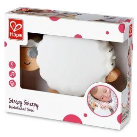 Hape  Музикална нощна лампа – Овчица