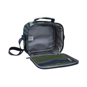 Milan чанта за храна, с 3 кутии, зелена