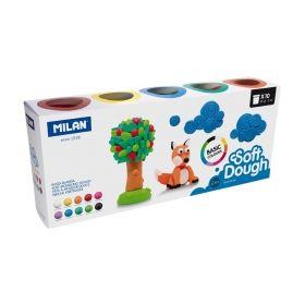 Тесто за моделиране Milan Soft Dough,10 цвята