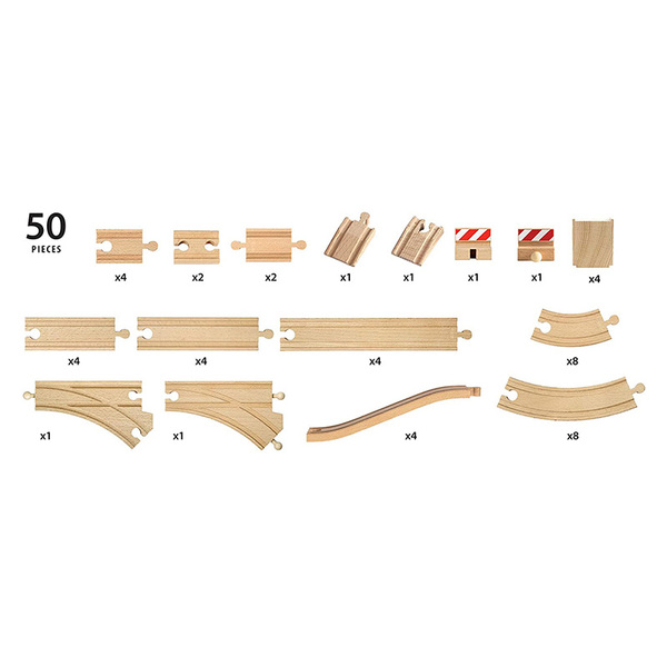 Brio комплект релси Special track pack