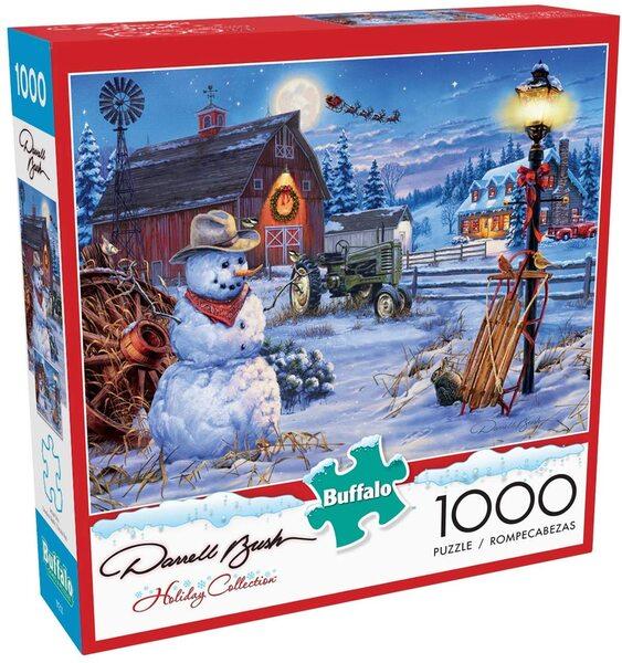 Пъзел Buffalo от 1000 части - Коледна приказка
