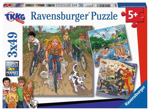 Пъзел Ravensburger от 3 х 39 части - Приключения