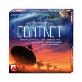 Настолна игра Contact - Signals from Outer Space