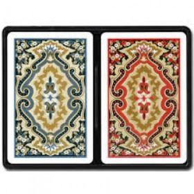 Карти за игра KEM bridge Standard index Black & Gold