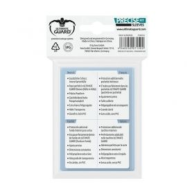 Протектори за карти Ultimate Guard - Precise Fit, 64x89мм, прозрачни, 100бр