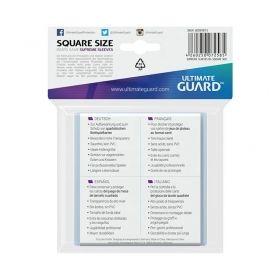 Протектори за карти Ultimate Guard - Supreme Square, 73x73мм, прозрачни, 50бр