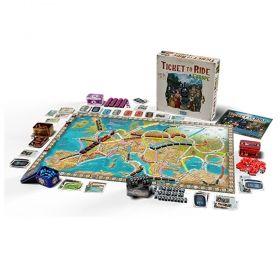 Настолна игра Ticket to Ride - Europe 15th Anniversary Edition