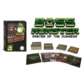 Настолна игра Boss Monster - The Dungeon Building Card Game