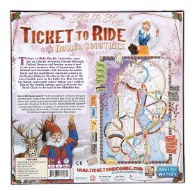 Настолна игра Ticket to Ride - Nordic Countries