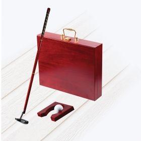 Комплект за мини голф GS-01, 4x части, дървена кутия