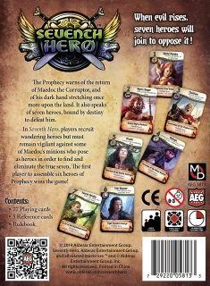 Настолна игра Seventh Hero