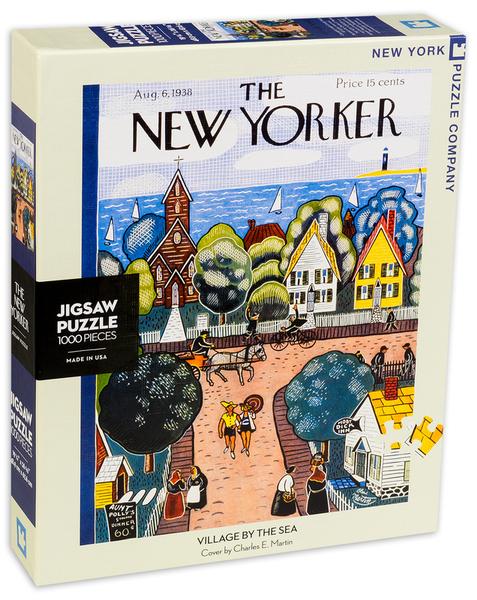Пъзел New York Puzzle от 1000 части - Селце до морето