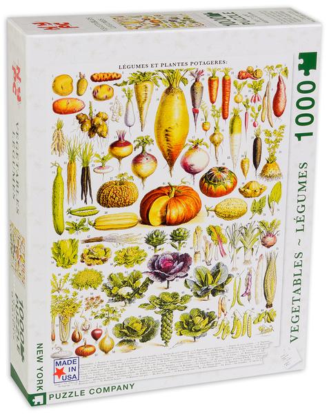 Пъзел New York Puzzle от 1000 части - Зеленчуци