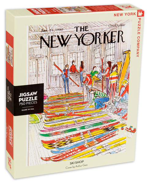 Пъзел New York Puzzle от 750 части - Ски магазин