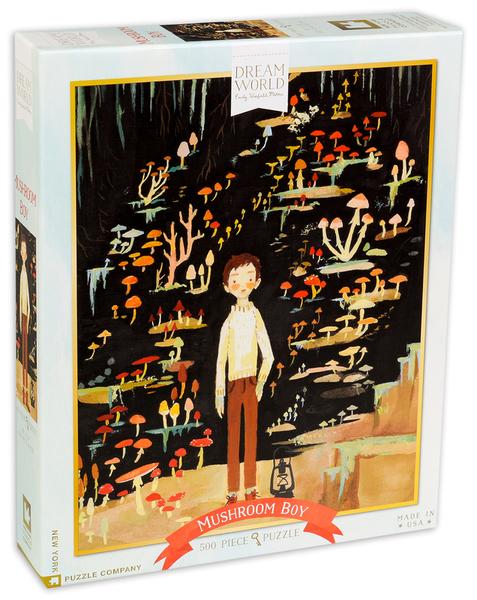 Пъзел New York Puzzle от 500 части - Гъбено момче