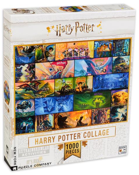 Пъзел New York Puzzle от 1000 части - Хари Потър, колаж