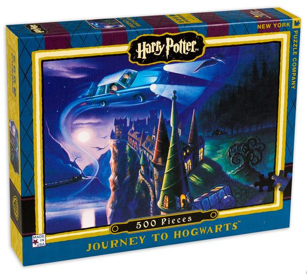 Пъзел New York Puzzle от 500 части - Пътуване към Хогуортс