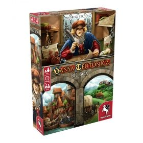 Настолна игра Hansa Teutonica - Big Box